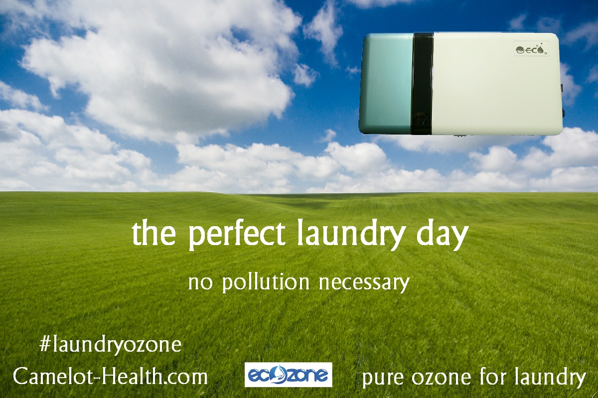 ozone scented laundry - no pollution necessary - no artificial scents required - pure ozone for laundry